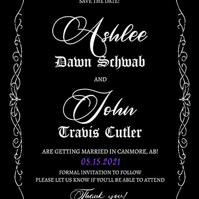 Ashlee Save the Date