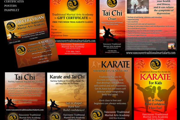 vancouver traditional martial arts academy branding